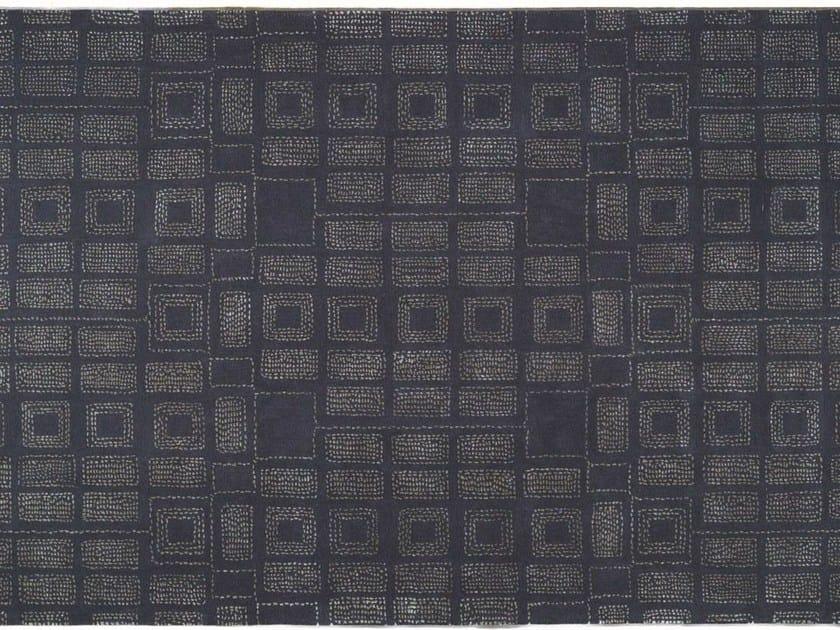 Patterned rectangular rug PRECIOUS by Toulemonde Bochart