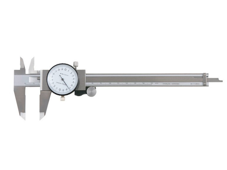 Measurement, control, thermographic and infrared instruments PRECISION GAUGE VERNIER CALLIPER by Würth