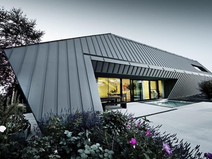 Nastri preverniciati in alluminio per rivestimenti di tetti PREFALZ by PREFA ITALIA