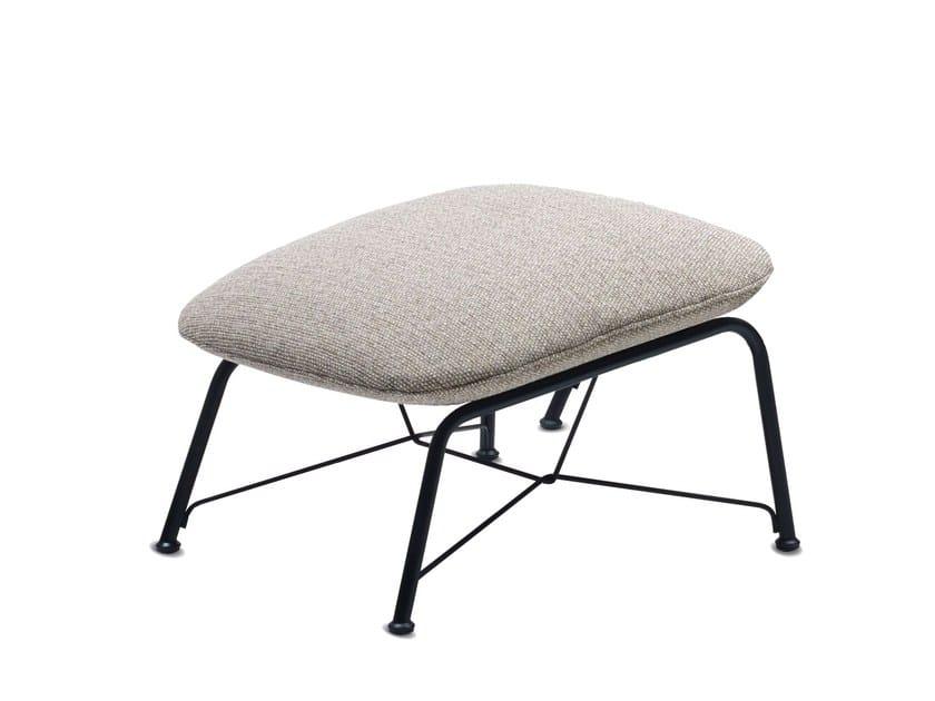 Fabric footstool PRELUDE LOUNGE   Footstool by JORI