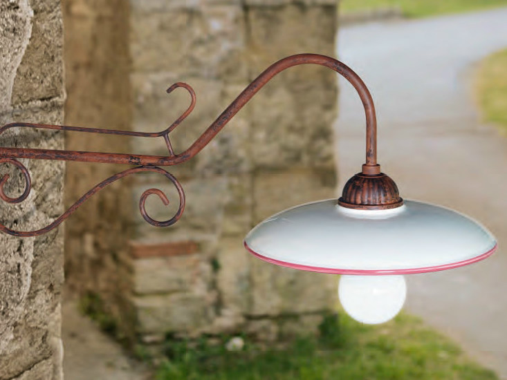 Ceramic wall lamp PRELUDIO | Ceramic wall lamp by Aldo Bernardi
