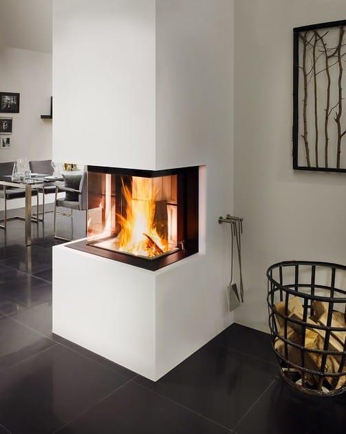 insert de chemin e bois avec vitre panoramique premium a 3rl 60h by spartherm. Black Bedroom Furniture Sets. Home Design Ideas