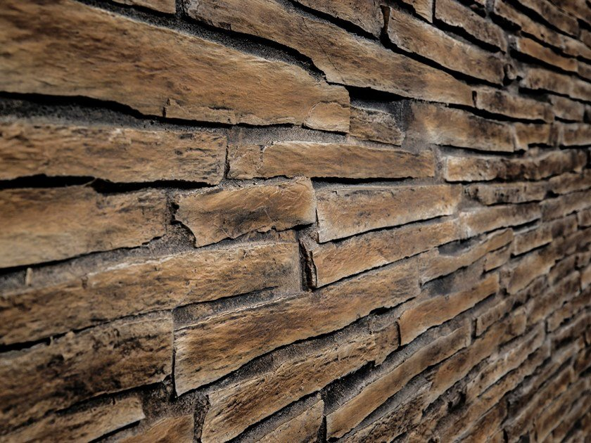 Wall tiles with stone effect PRENAICA by Artstone Panel Systems