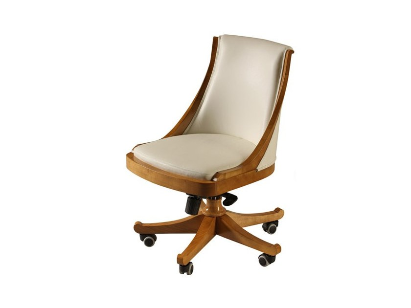 Swivel low back executive chair with casters PRESIDENT | Low back executive chair by Morelato