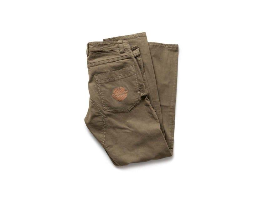 Pantalone in tessuto Twill PRESS MASTICE by DIKE
