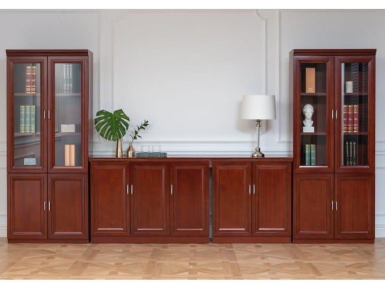 Libreria componibile in fibra di legno PRESTIGE C600 by Arrediorg.it®