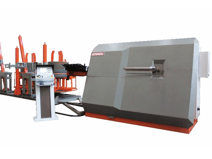 Bi-directional automatic stirrup bender PRIMA 13 by SCHNELL