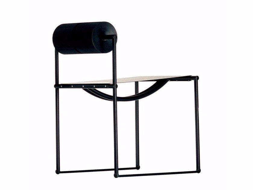 Perforated metal chair PRIMA - 601 by Alias