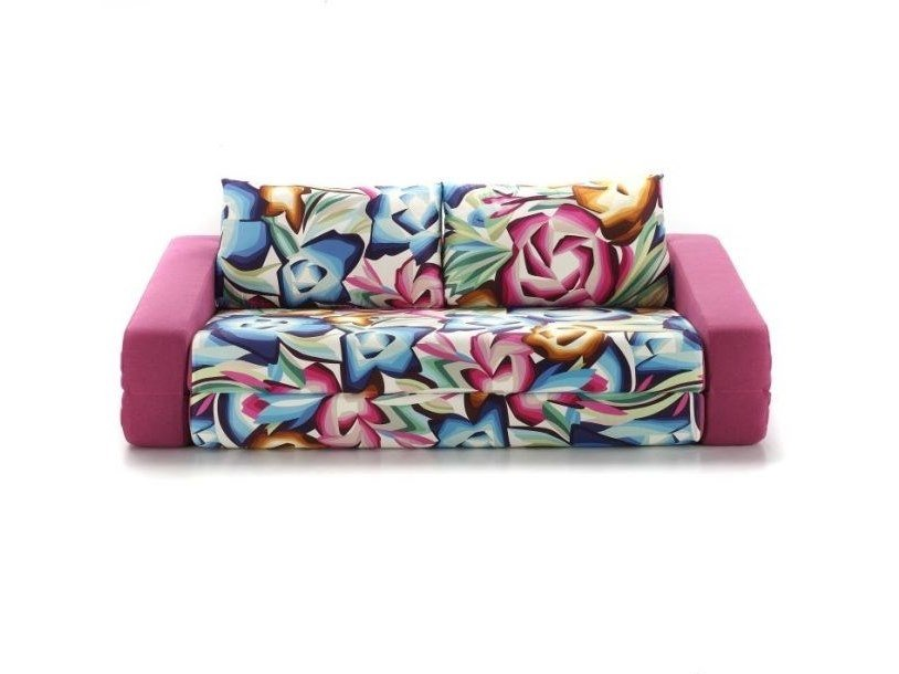 Convertible fabric sofa with removable cover PRIMO by Gobbo Salotti