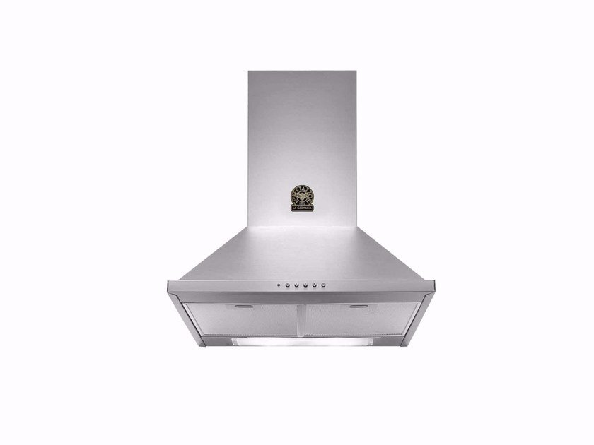 Wall-mounted cooker hood with integrated lighting PRIMA - K60 by Bertazzoni