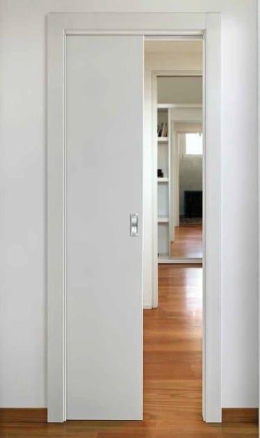 Prima porta scorrevole a scomparsa by capoferri serramenti - Porta scorrevole a scomparsa prezzi ...