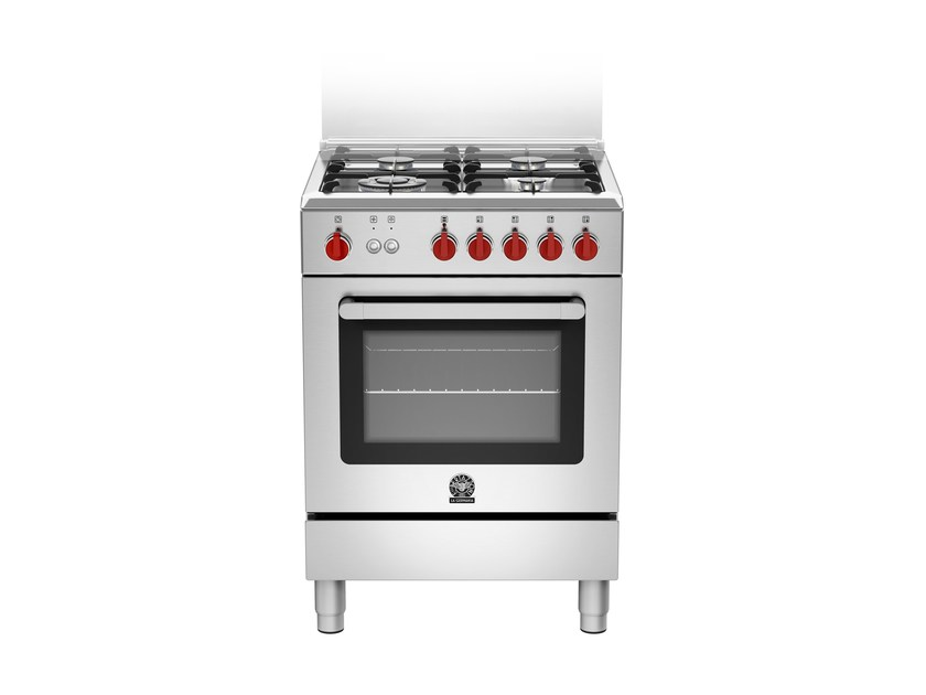 Professional cooker PRIMA - RI6 4C 71 C X by Bertazzoni