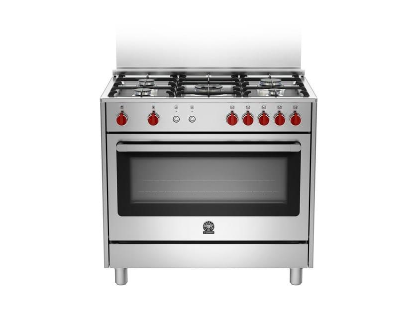 Professional cooker PRIMA - RIS9 5C 61 C X by Bertazzoni