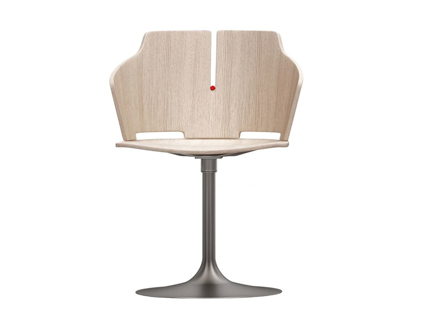 Swivel chair with armrests PRIMA | Swivel chair by Luxy