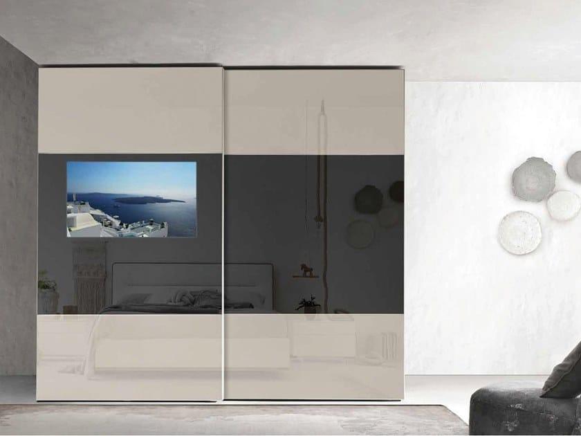 Wardrobe with built-in TV PRIMAFILA by ZANETTE