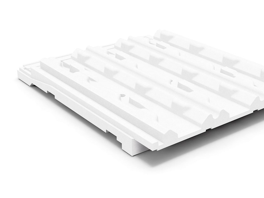 Polystyrene thermal insulation panel PRIMATE PRATIKO COPPO BASIC by Primate