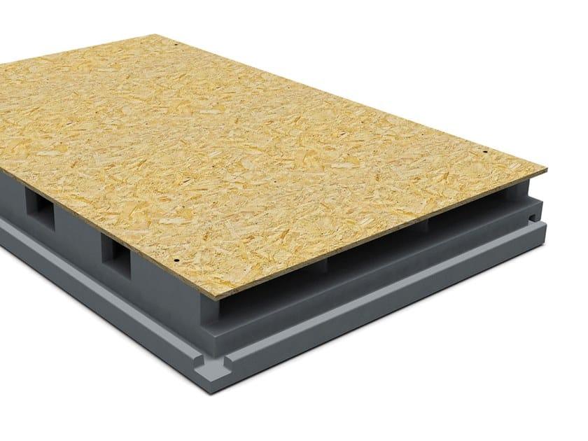 Thermal insulation panel PRIMATE VENTILO GREY by Primate