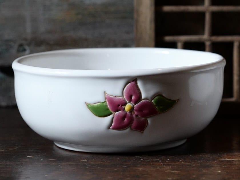 Ceramic bowl PRIMAVERA ROSA | Bowl by Cerasarda