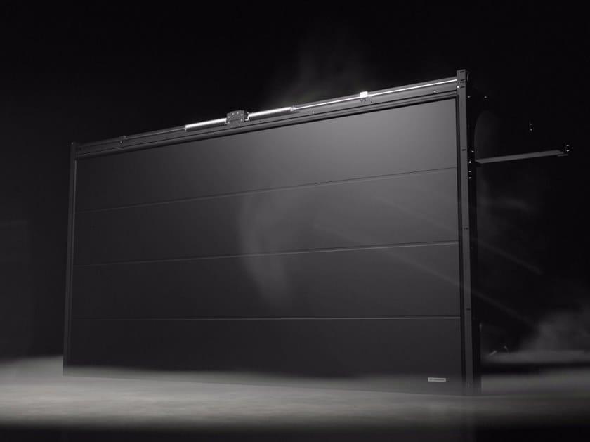 Sectional garage door PRIME Black Edition by WISNIOWSKI