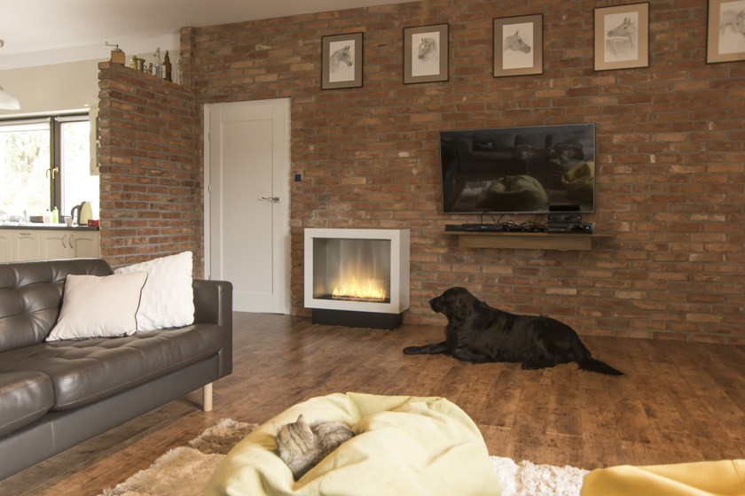 Planika Fireplaces Part - 45: Open Bioethanol Fireplace With Remote Control PRIMEBOX | Fireplace With  Remote Control By Planika
