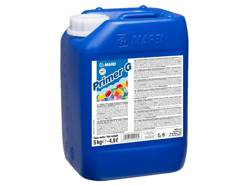 Primer a base di resine sintetiche primer g mapei - Rasare su piastrelle ...