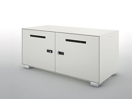 Metal office storage unit / safe-deposit box PRIMO LOCKERS by Dieffebi