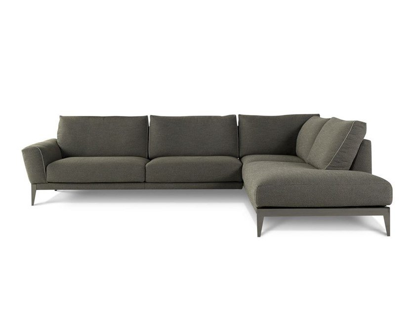 Roche bobois floor cushion seating Modern Floor Archiproducts Corner Sectional Fabric Sofa Principe By Roche Bobois