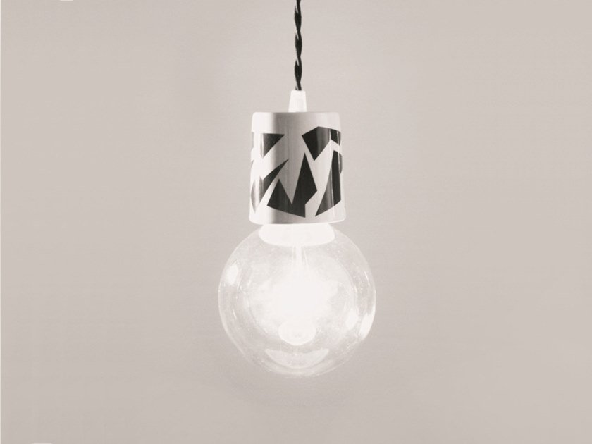 Ceramic pendant lamp PRINT | Pendant lamp by neo design studios