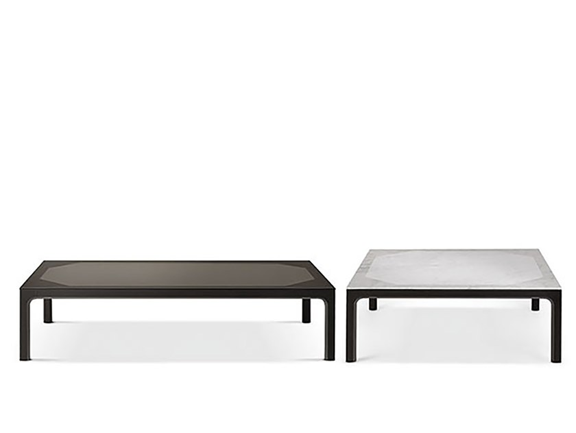 Rectangular coffee table PRISM by Busnelli