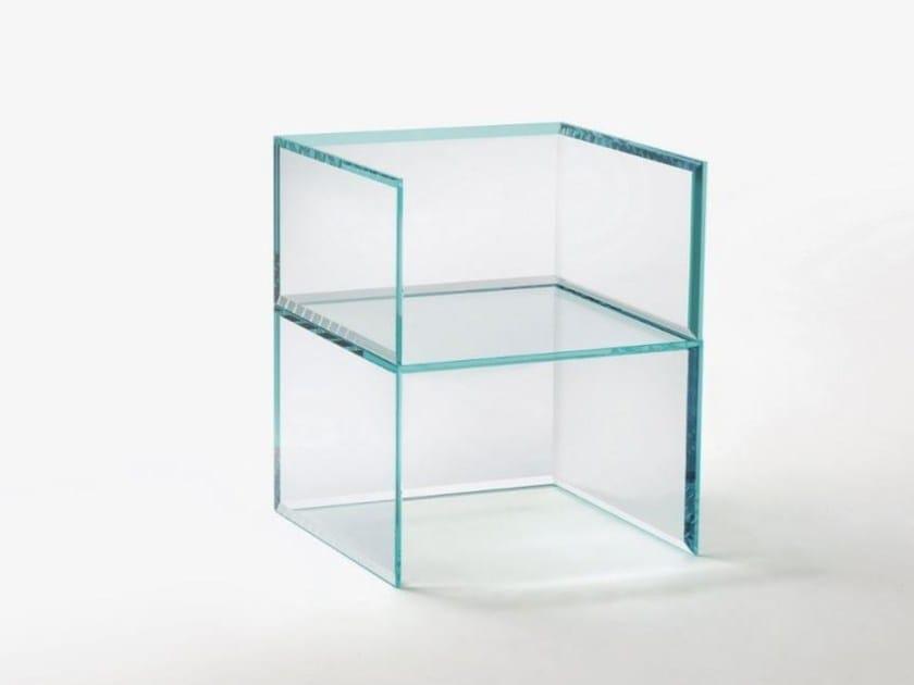 Sedia Con Italia Prism Glass Braccioli In Chair Cristallo Glas j5RL4A