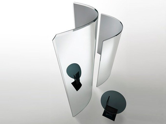 Crystal Screen PRISM PARTITION by Glas Italia