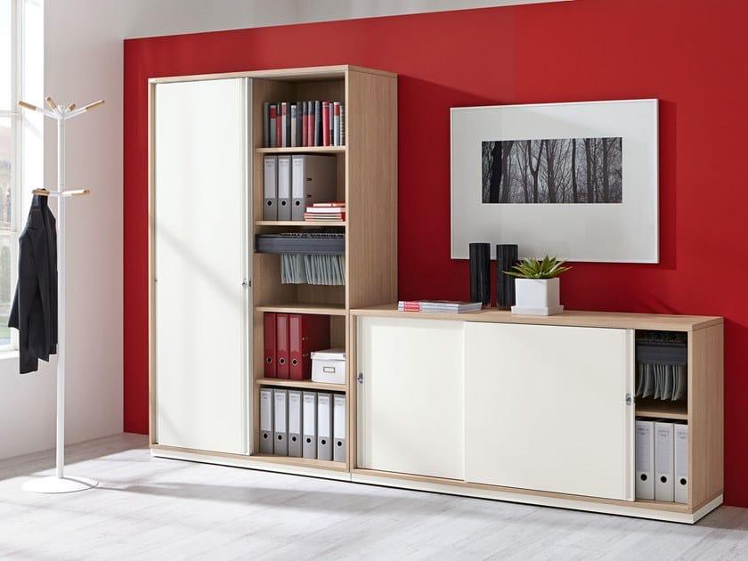 Armadio Ufficio 2 Ante.Mobili Ufficio Con Ante Scorrevoli Archiproducts