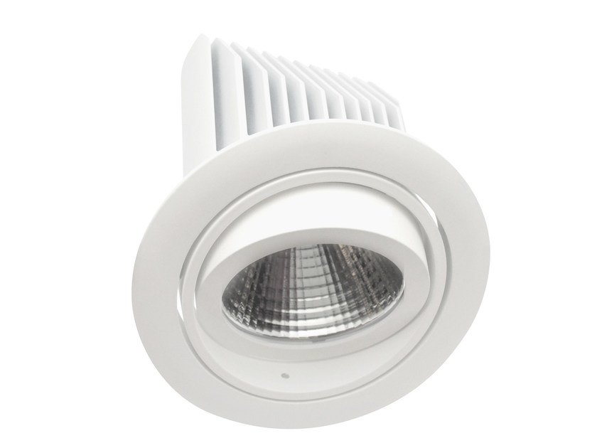 LED adjustable recessed aluminium spotlight PRISMA by LED BCN