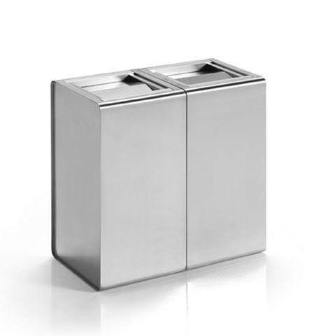 Stainless steel ashtray PRISMA | Ashtray by Caimi Brevetti