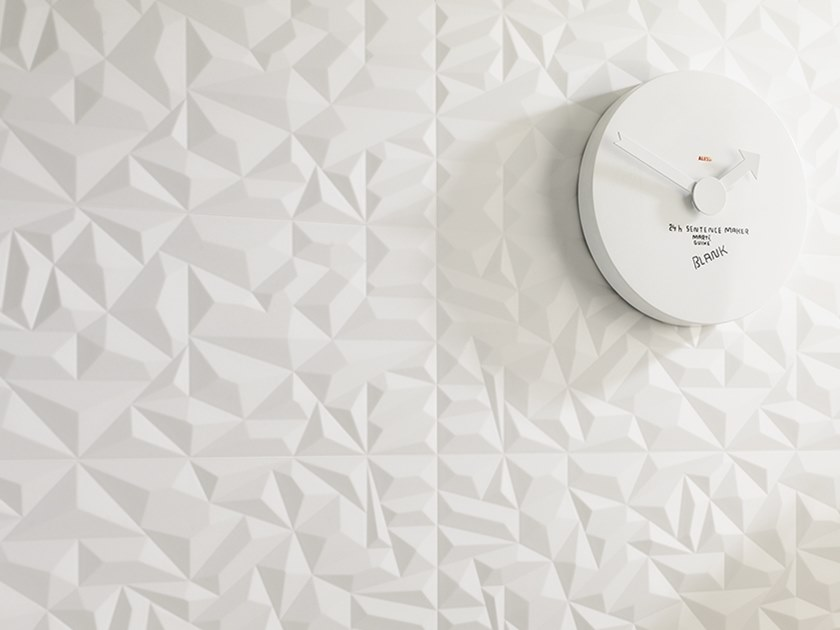 3D Wall Cladding PRISMA WHITE by Venis