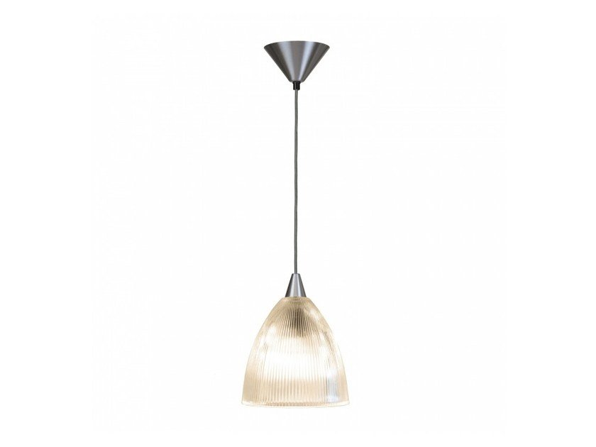 Direct light glass pendant lamp with dimmer PRISMATIC LARGE by Original BTC