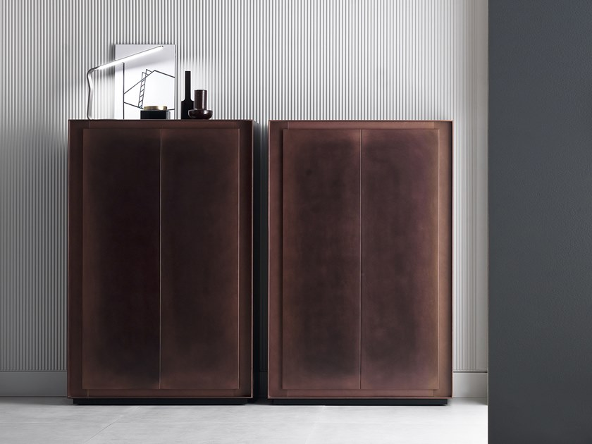 Wooden highboard with doors PRIVACY | Highboard by Capo d'Opera