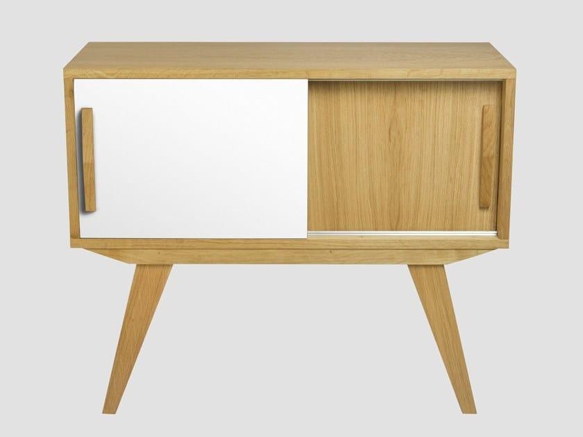Wooden sideboard with sliding doors PRL   Sideboard by Gie El Home