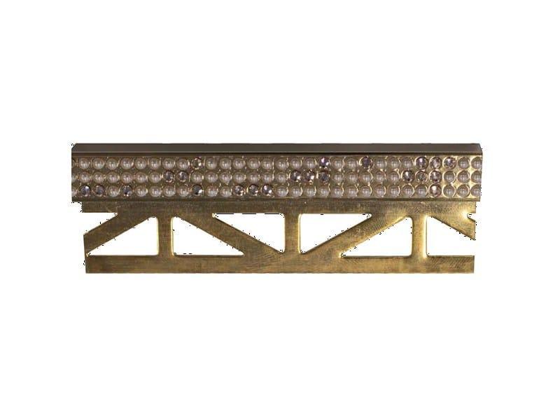 Decorative edge profile with Swarovski® Crystals PRO-PART LI PEARLS SW by Butech