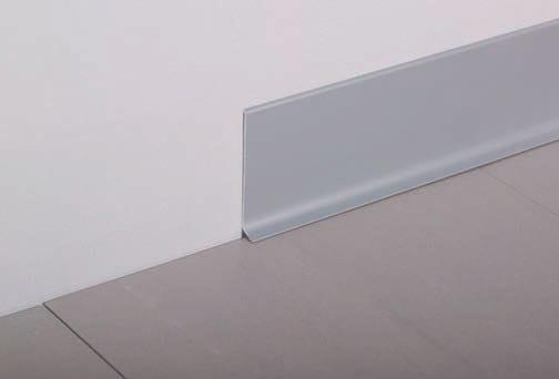 Stainless steel Skirting board PRO-PLINT by Butech