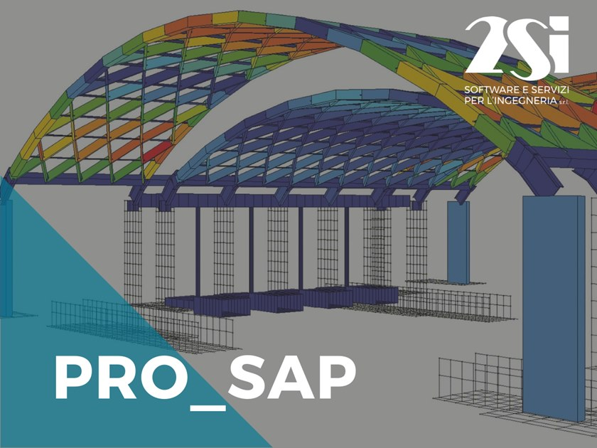 Modelling and static analysis PRO_SAP LT Base by 2SI