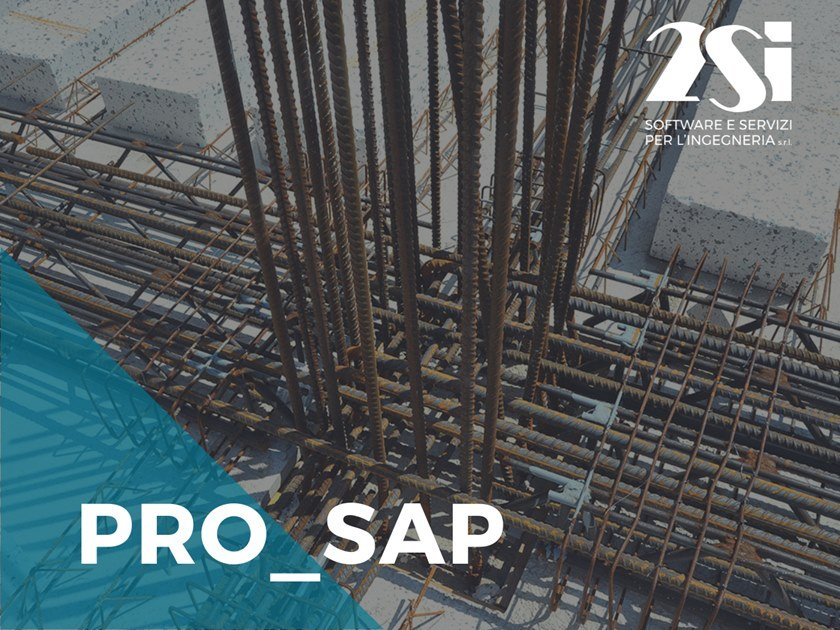 R.C. construction drawing PRO_SAP LT Modulo 04 by 2SI