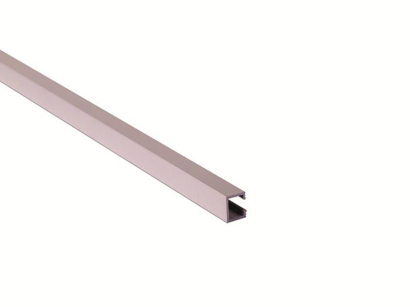 Decorative aluminium edge profile for walls PRO-TELO RECTO by Butech