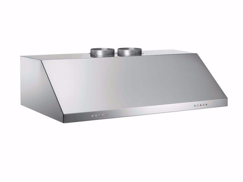 Cappa in acciaio inox ad incasso con illuminazione integrata PROFESSIONAL - KU120 PRO 2 X A by Bertazzoni
