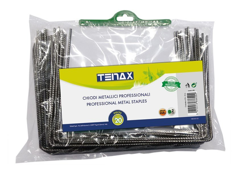 Nail PROFESSIONAL METAL STAPLES by TENAX