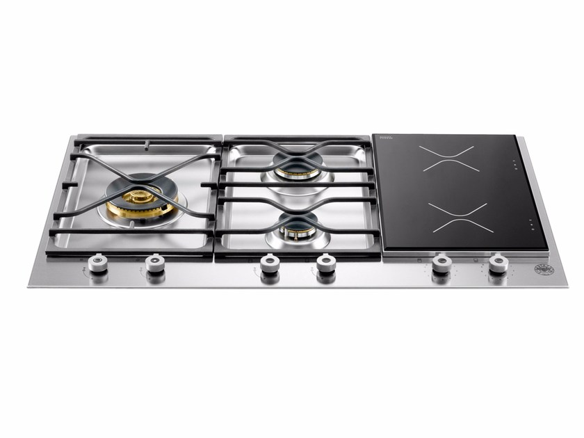 Built-in hob PROFESSIONAL - PM36 3 I0 X by Bertazzoni