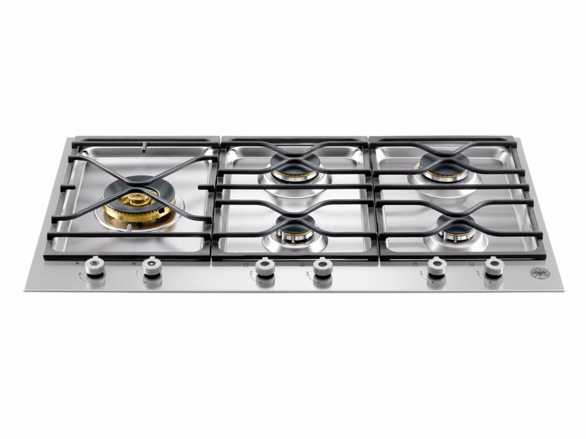 Gas built-in hob PROFESSIONAL - PM36 5 S0 X by Bertazzoni