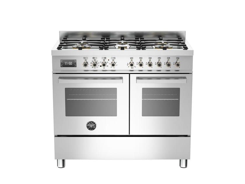 Cucina a libera installazione professionale PROFESSIONAL - PRO100 6 MFE D by Bertazzoni