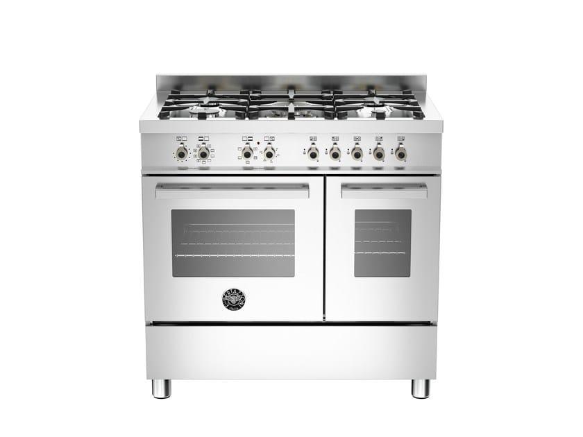 Cucina a libera installazione professionale PROFESSIONAL - PRO90 5 MFE D XE by Bertazzoni