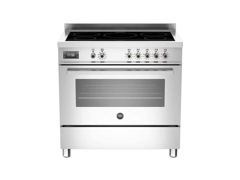 Cucina a libera installazione professionale PROFESSIONAL - PRO90 5I MFE S by Bertazzoni